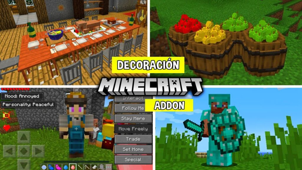 Qué son los Addons en Minecraft