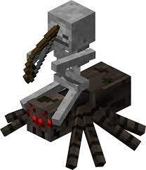 Todo sobre el Jinete Arácnido en Minecraft