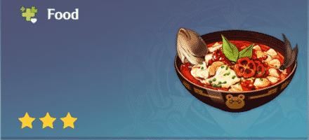 pescado hervido de restaurante wanmin