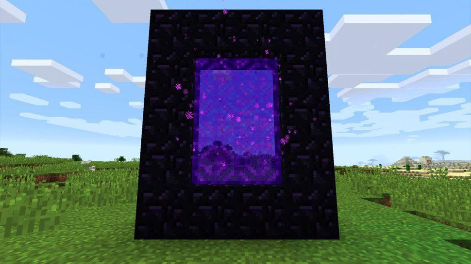 Cómo crear un portal al Nether en Minecraft