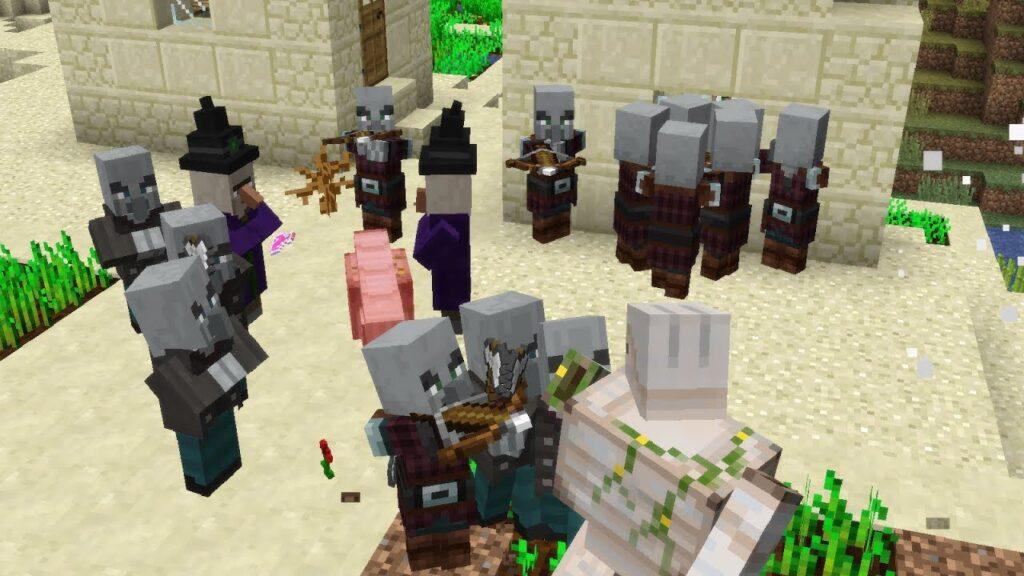 Qué es una Raid en Minecraft